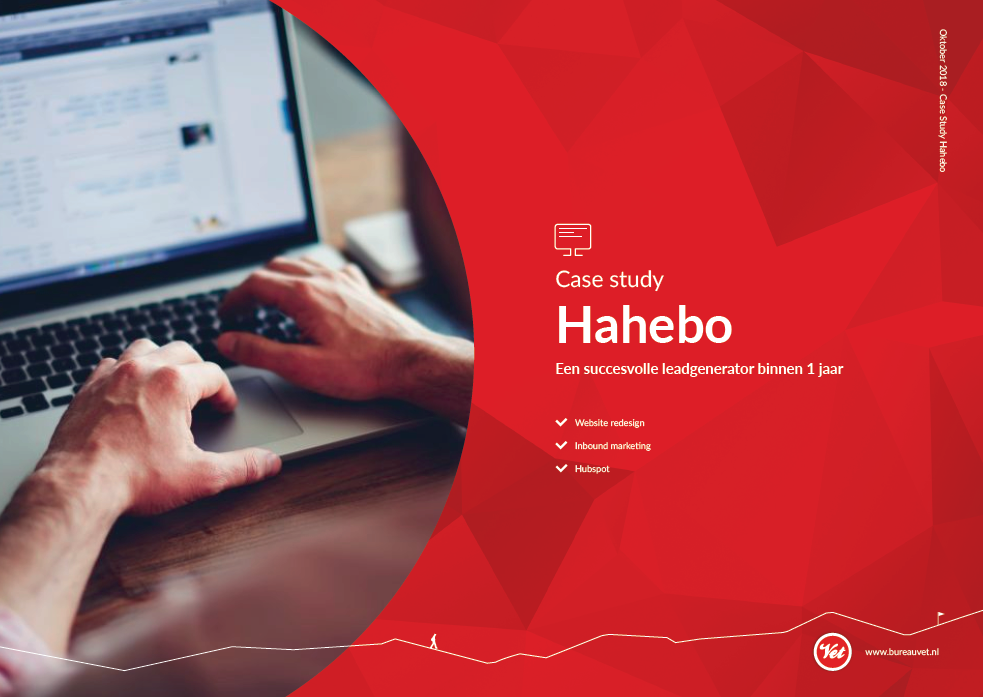 Bureau Vet - case study Hahebo - frontpage